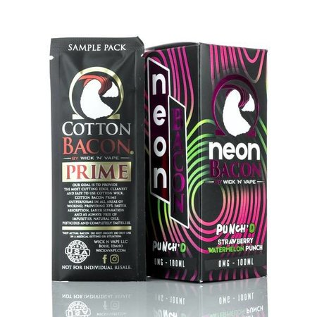 NEON BACON WICK 'N' VAPE – PUNCH'D 100ml