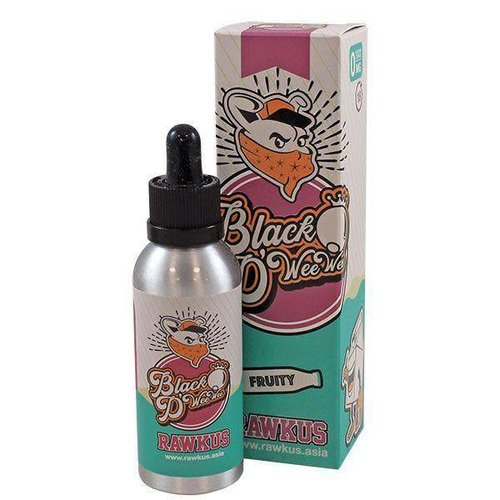 BLACK D WEE WEE BY RAWKUS E LIQUID | 50ML SHORT FILL (free nic shot)