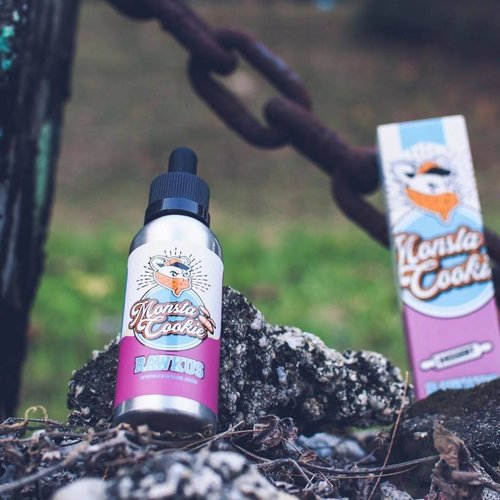 MONSTA COOKIE BY RAWKUS E LIQUID | 50ML SHORT FILL (free nic shot)