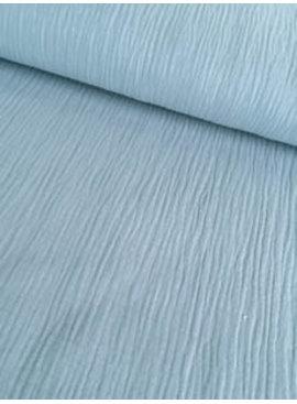9€ p/m - Baby Blauw - Hydrofiel Stof
