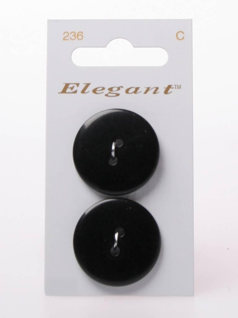 Elegant Zwarte Knopen - Elegant 236