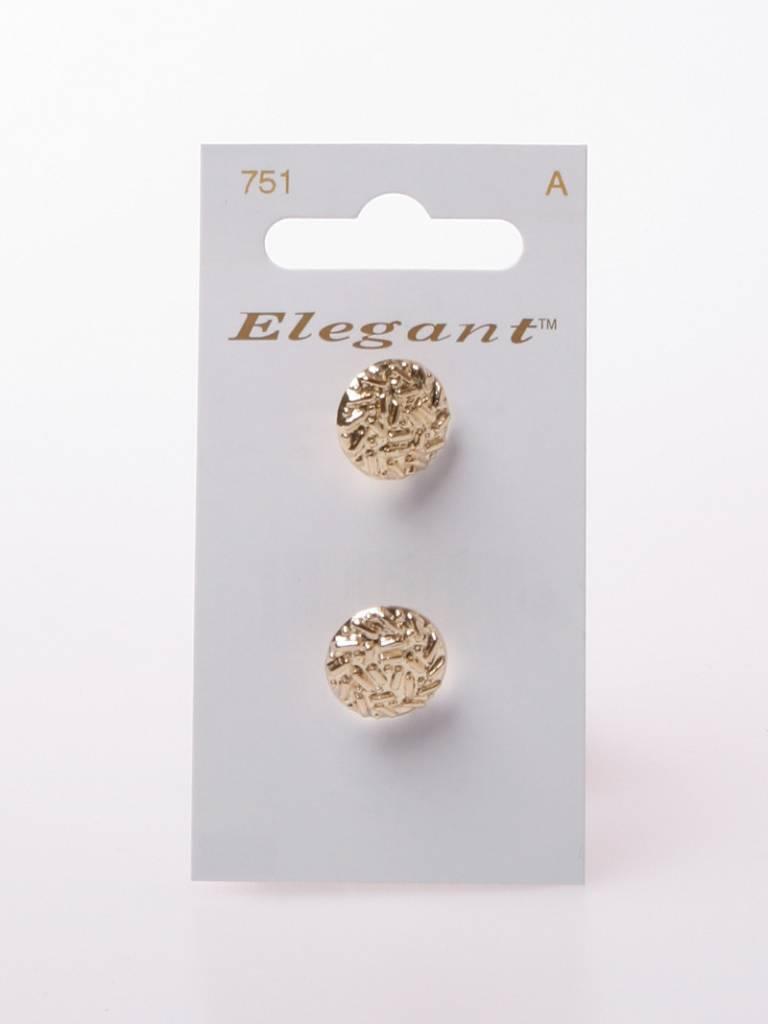 Elegant Gouden Knopen - Elegant 751