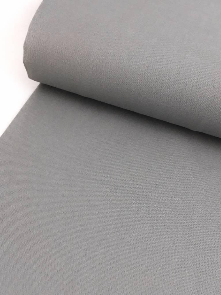 1,60m x 1,45m - Grijs - Elastisch Katoen (goede kant binnen)