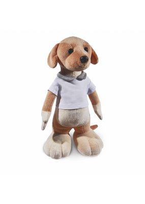 Funnies Hond Staand Lichtbruin