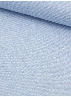 15€ p/m - Lichtblauw Wit Gespikkeld - Gebreid