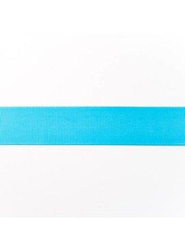 0,50€ p/m - Ribsband 25 mm - Aqua