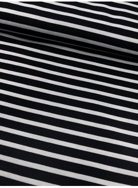 Polytex Punta Di Roma - Stripes black - 14,70 Euro Per Meter