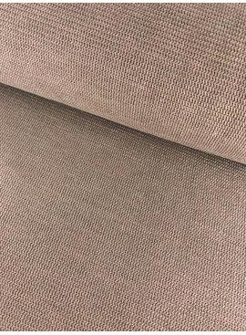 12,50€ p/m - Structuur Taupe - Sweaterstof