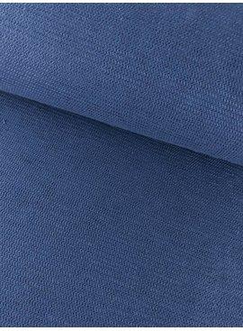 12,50€ p/m - Structuur Blauw - Sweaterstof