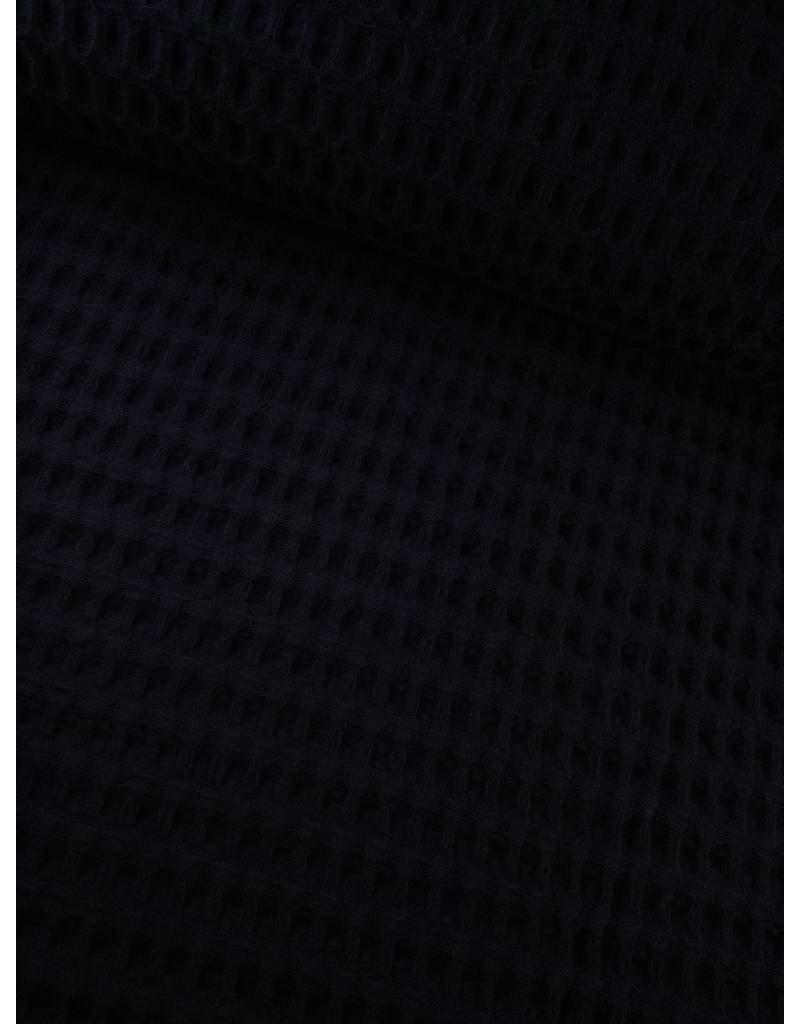 11€ p/m - Nachtblauw - Wafeldoek Groot