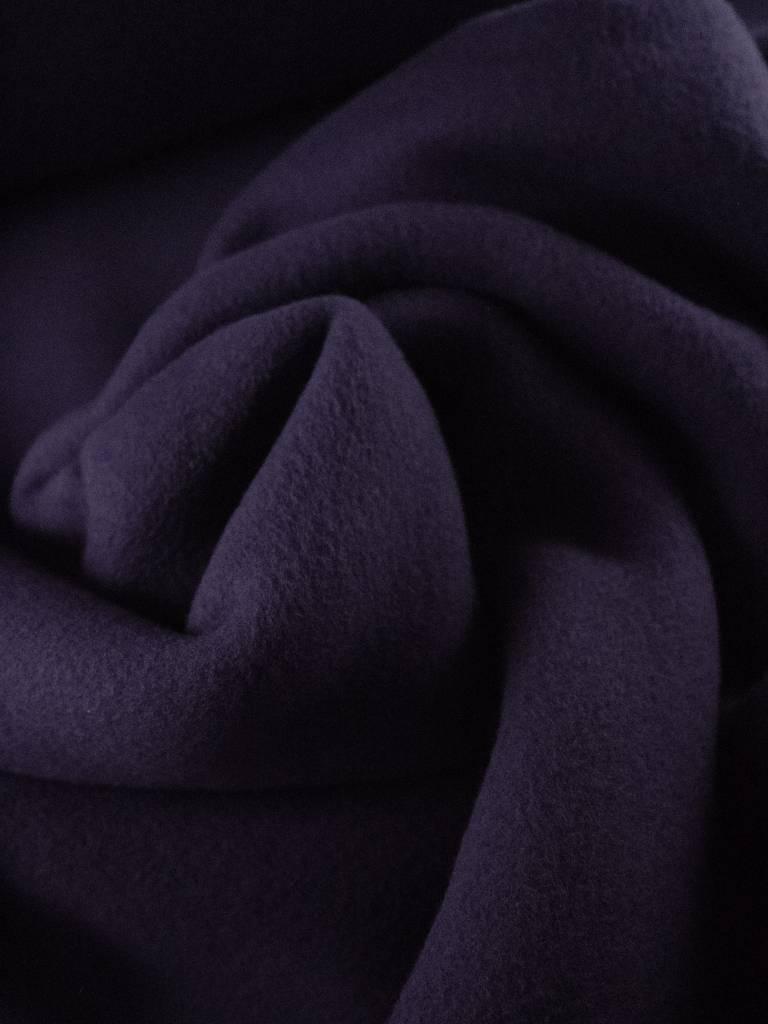 14p/m - Blauw Paars - Katoen fleece
