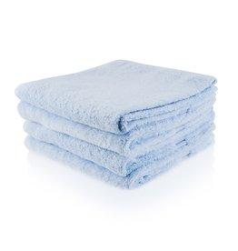 Gepersonaliseerde badhanddoek - Ijsblauw