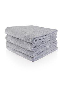 Gepersonaliseerde badhanddoek - Lichtgrijs