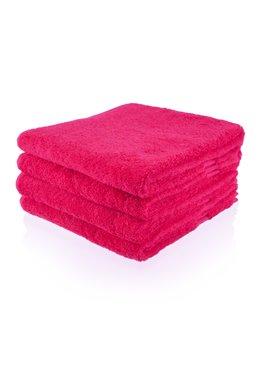 Gepersonaliseerde badhanddoek - Fuchsia