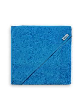 Geborduurde Badcape - Turquoise