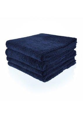Geborduurde badhanddoek met naam - Marine
