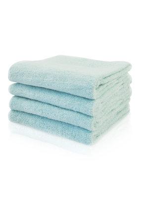 Funnies Geborduurde badhanddoek met naam - Munt