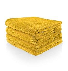 Funnies Geborduurde Handdoek met naam - Oker