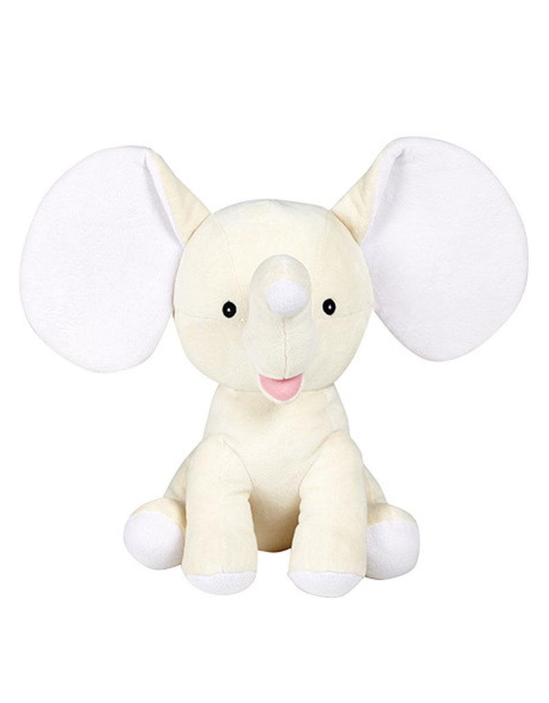 Cubbies Cubbies olifant - dumble creme  geborduurd met naam of tekst