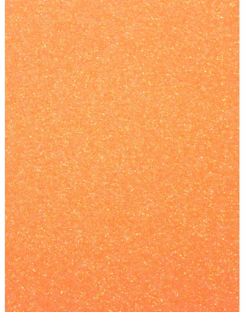 Stahls Neon oranje Glitter Flex Folie - Vanaf:
