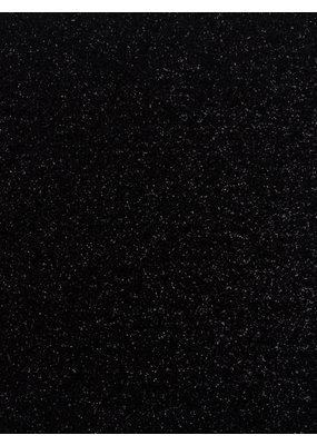Stahls Zwart Glitter - Flex Folie