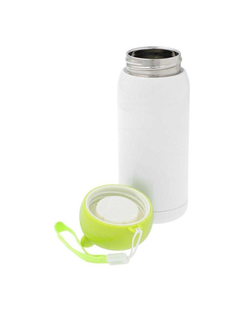 Roestvrij Stalen Thermosfles Groene Dop