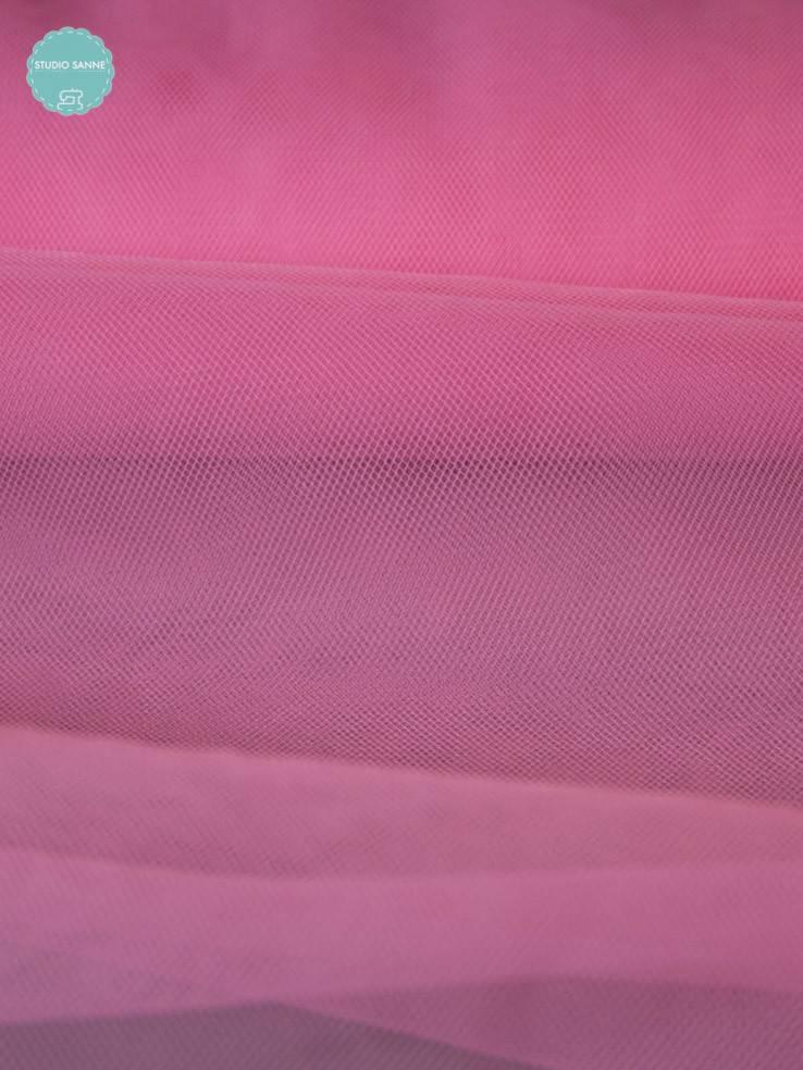 2,50€ Per Meter - Roze - Tule Zacht