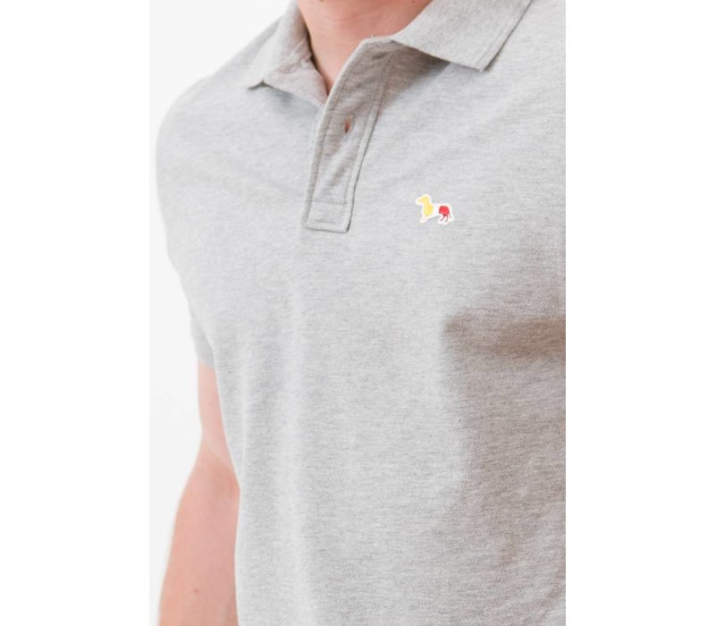 HERREN THE DACHSHUND PATCH POLO