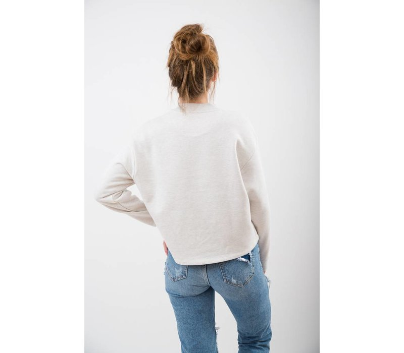 DAMEN THE DUCK PATCH CROPPED PULLOVER