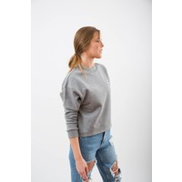 DAMEN BEAR PUPPY CROPPED PULLOVER