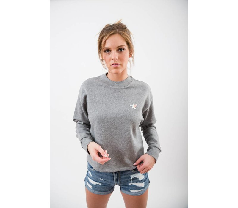 WOMENS THE DUCK PATCH CROPPED PULLOVER