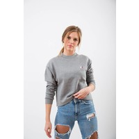 WOMENS BEAR PUPPY CROPPED PULLOVER