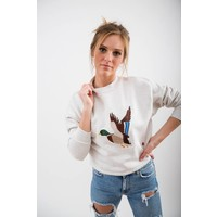 WOMENS THE DUCK CROPPED PULLOVER