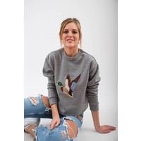 DAMEN THE DUCK CROPPED PULLOVER