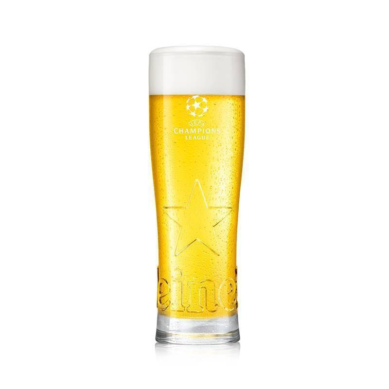 UEFA Champions League and Heineken Star Glass
