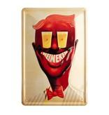 Retro metal bar sign - Charlie (30 x 20 cm)