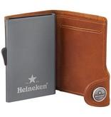 Heineken Retro  leather credit card holder