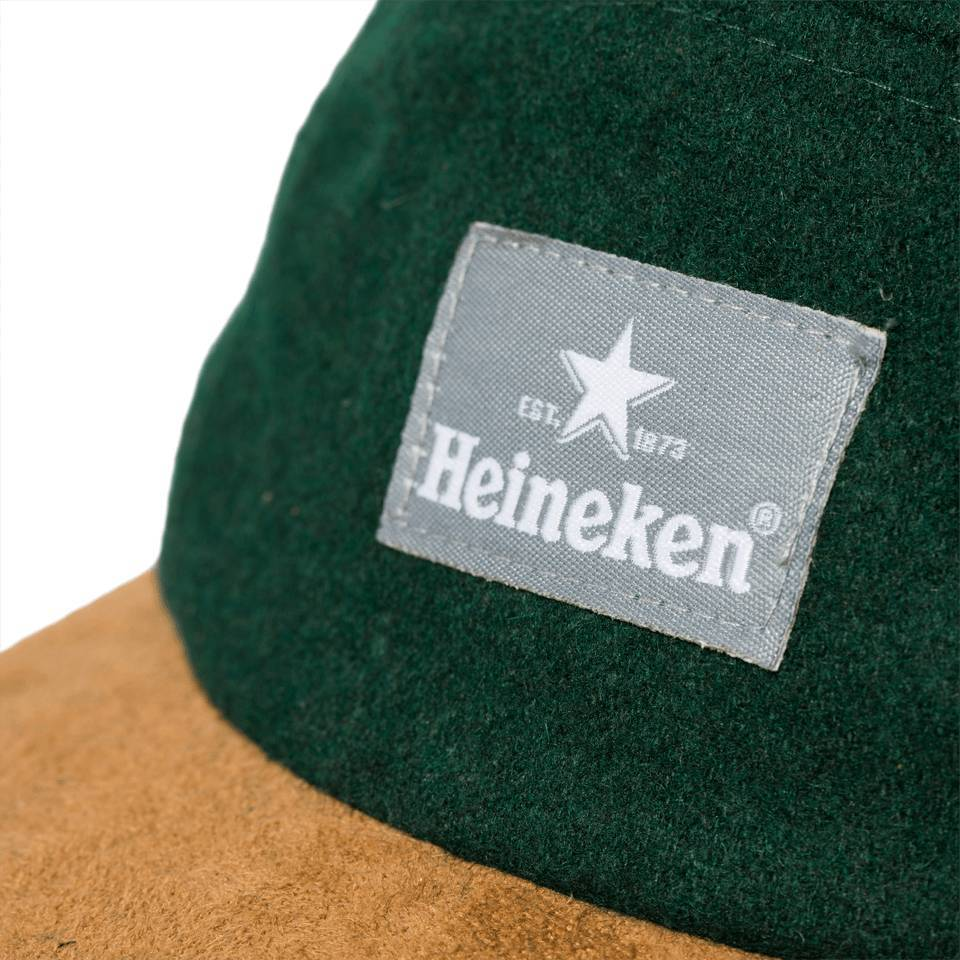 Heineken Cap 13 Panel Wool