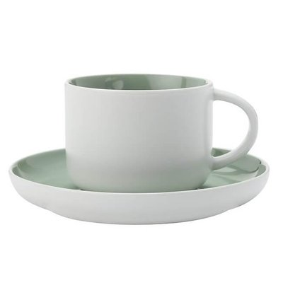 TINT - Cup & Saucer - Light Green