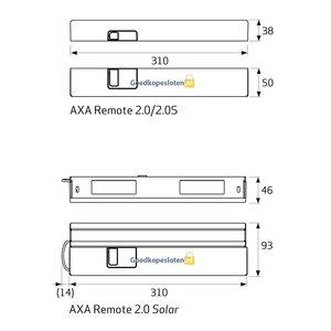 Axa Remote 2.0 raamopener skg**