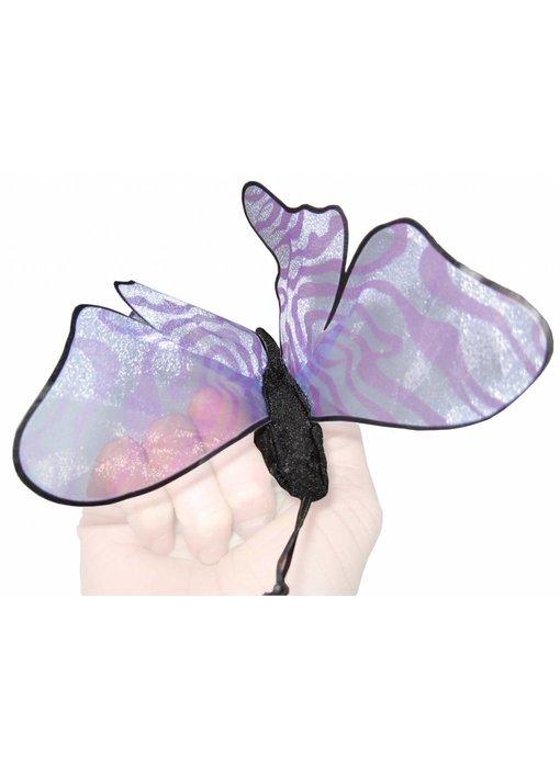 Handpop Vlinder klein