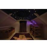 Universal Fibre Optics Ltd. Sterrenplafond rond met lichtbron