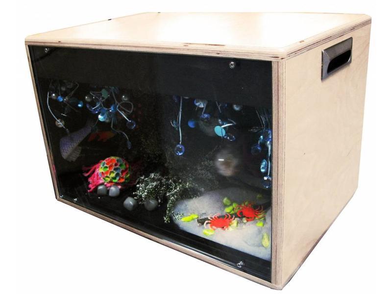 Atelier Michel Koene Blacklightbox draagbaar