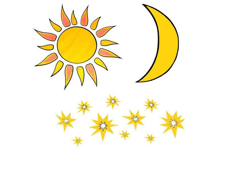 Afbeeldingsresultaat voor zon maan en sterren