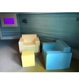 Atelier Michel Koene GARDA - 1-zits, Sta-Op, zacht gecoat schuim