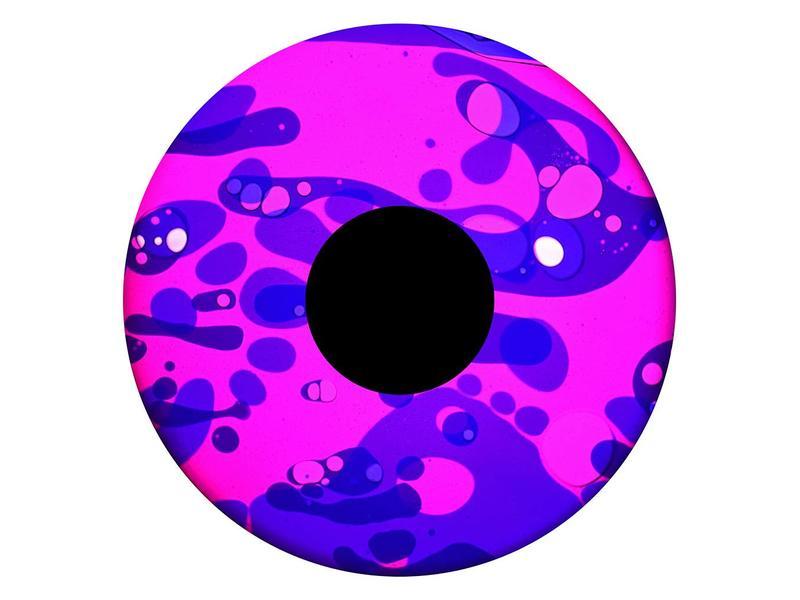 """OPTIkinetics 6"""" Effectwiel vloeistof    roze/paars"""