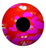 "OPTIkinetics 6"" Effectwiel vloeistof  roze/rood"