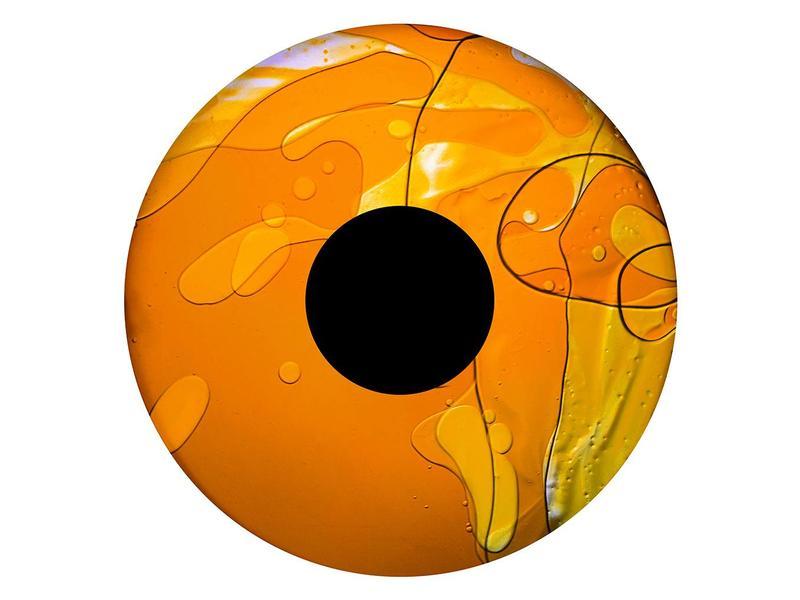 """OPTIkinetics Magnetisch 6"""" effectwiel vloeistof (Sahara Sun)"""