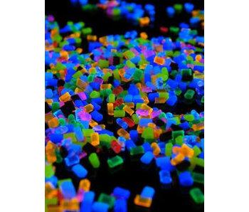 Granulaat fluoriserend- gemixt