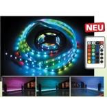 RGB LEDstrip set compleet kleur